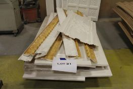 Fiberglass architectural wall panels & trim