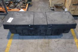 """Truck tool box 54"""" inside the bed, 61"""" overall"""
