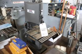 "Central Machinery 9"" band saw"