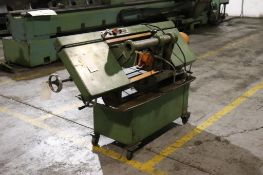 Horizontal band saw w/ coolant, 1ph