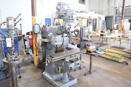 Import milling machine w/ Bridgeport head