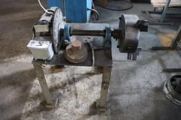Welding positioner w/ lot 130 stock stand