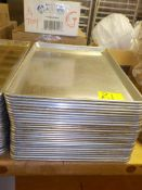 "ALUMINIM 18"" X 26"" BUN PANS (51) SOLD BY THE PIECE, MUST BUY IN QUANTITIES OF TEN"