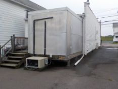 WALK IN FREEZER , 9FT X 12FT, EXTERIOR, ABOVE GROUND