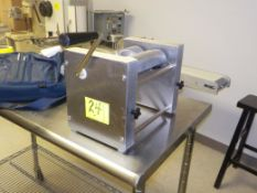PASTRY TURNOVER MAKER, SOMERSET MODEL SPM 45, MANUAL (D53 DIE MEDIUM)