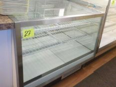 BAKERY CASE 4 FT, REFRIGERATED