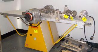 Dough Sheeter, Rondo(Reversible) Model SMK64, Mach Nr 47196008, Mobile