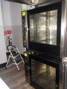 Convection Ovens, with Steam, EKA Model EKFA 664 UD, (E 664UD1021) 208/240V, 3 Ph.( Italy) (Subject