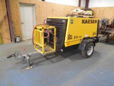 2019 Kaeser M58 air compressor 210 CFM , 189 hrs showingModel 58