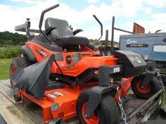 Kubota ZD331 diesel lawnmower, 72' deck 252 hrs