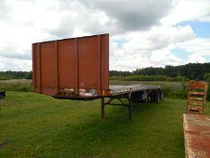 1999 Fontaine Trailer 96' x 45' aluminum over steel spread axlevin# 13N45306X1583983