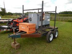 Miller Big 400 D welder with trialer and job box NO TITLE