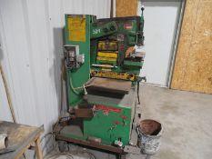 Uni Hydro Iron Worker 42 ton Model 42-14ser# 1P5890X