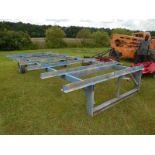 Yard fabrication trailer NO TITLE