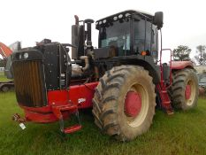 2012 Versatile 500 Tractor ser# 704054 engine is blown and is sitting beside the tractor, duals at