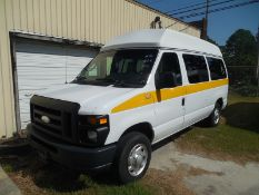 2014 Ford E150 wheel chair van vin# 1FTNE1EW3EDA59814 - 162.841 miles