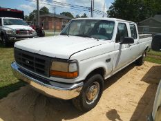 1996 Ford F350 4 dr vin# 1FTJW35HXTEB11228 mileage unknown