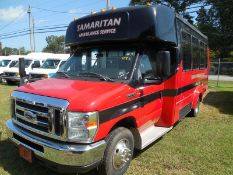2013 Ford E450 Gas Elkhart Coach Bus vin# 1FDFE4FS4DDB03332 - 108,544 miles missing catalytic
