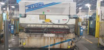 WYSONG 140-Ton x 10' Hydraulic Press Brake mod.THS140-120 s/n: TH7-108