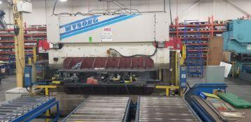 WYSONG 140-Ton x 10' Hydraulic Press Brake mod.THS140-120 s/n: TH7-101