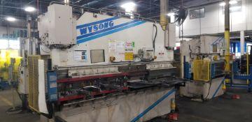 WYSONG 140-Ton Hydraulic Press Brake mod.THS140-144 s/n: TH9-101