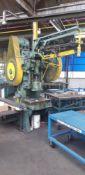 BROWN BOGGS OBI Mechanical Punch Press mod.16LS 50-Ton, s/n: 9084