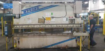 WYSONG 140-Ton x 12' Hydraulic Press Brake mod.THS140-144 s/n: .TH9-102