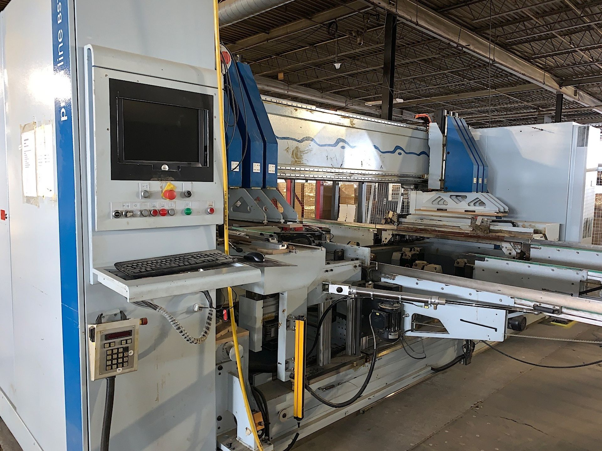 Lot 7f - 2006 WEEKE (BST 750) BOTTOM CNC DRILLING MACHINE (SOLD SUBJECT TO BULK BID PRICE OF LOT 7)