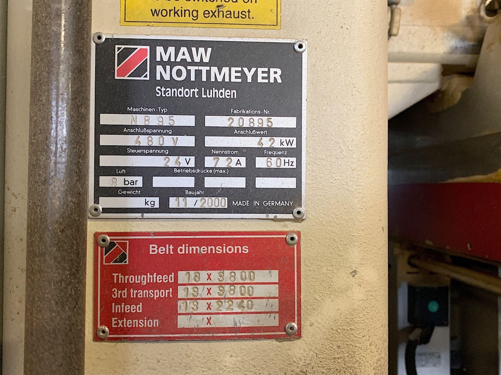 Lot 9 - IMA NOTTMEYER (NB 95) FEED THROUGH DRILLING MACHINE
