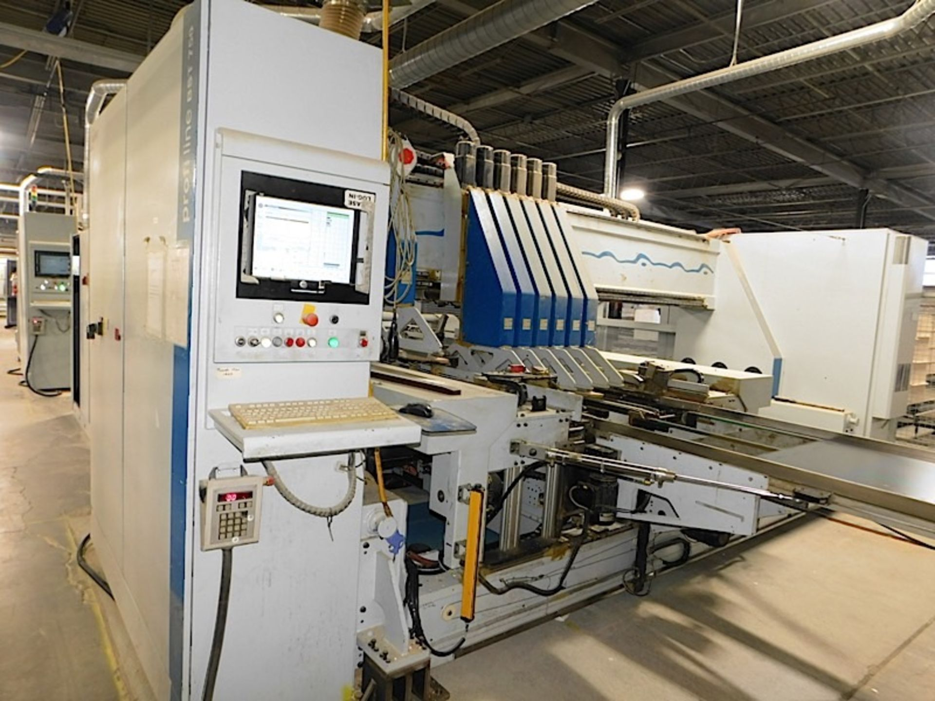 Lot 7d - 2006 WEEKE (BST 750) BOTTOM AND SIDE CNC DRILLING MACHINE (SOLD SUBJECT TO BULK BID PRICE OF LOT 7)