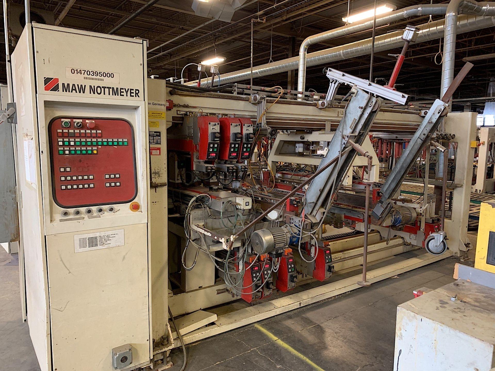 Lot 8b - IMA NOTTMEYER (NB 95) FEED THROUGH DRILLING MACHINE (SOLD SUBJECT TO BULK BID PRICE OF LOT 8)
