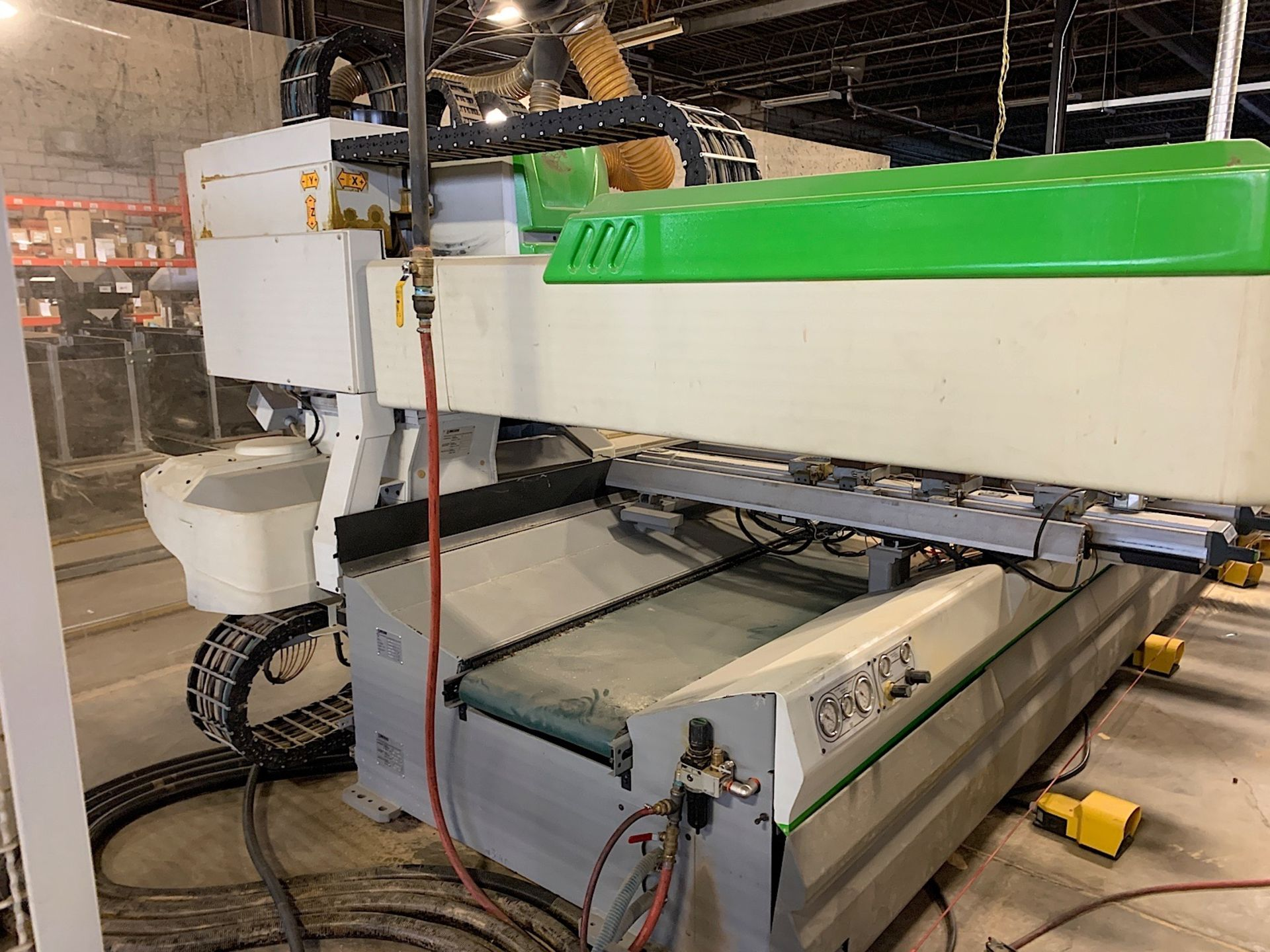 Lot 3 - BIESSE (37L) CNC ROUTER POINT TO POINT