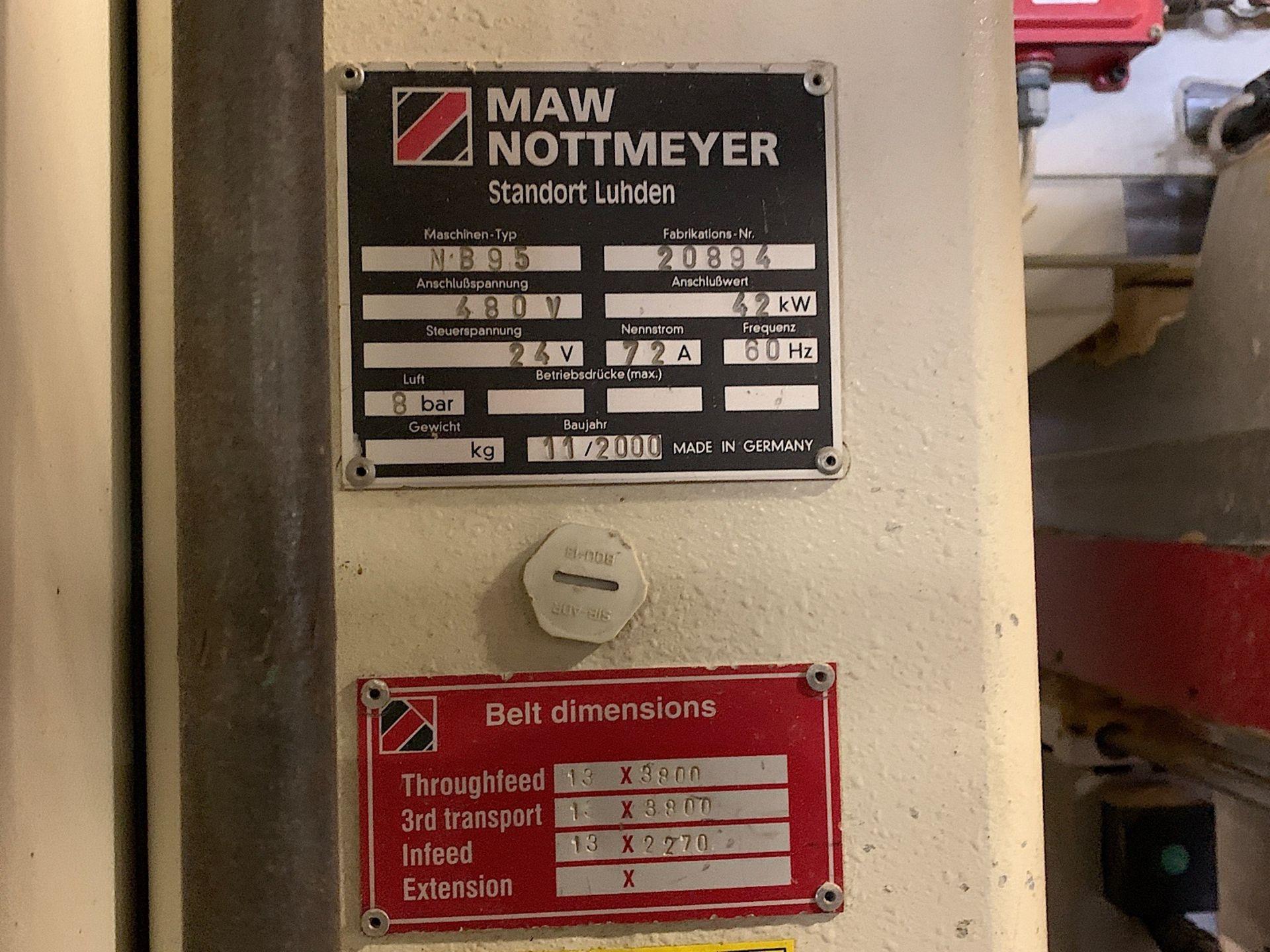 Lot 12 - IMA NOTTMEYER (NB 95) FEED THROUGH DRILLING MACHINE