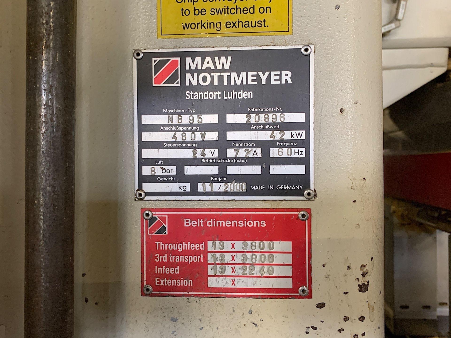 Lot 11 - IMA NOTTMEYER (NB 95) FEED THROUGH DRILLING MACHINE