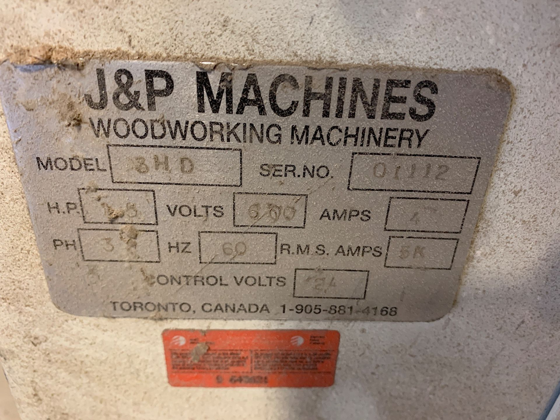 Lot 2 - J & P (3HD) DRILLING MACHINE