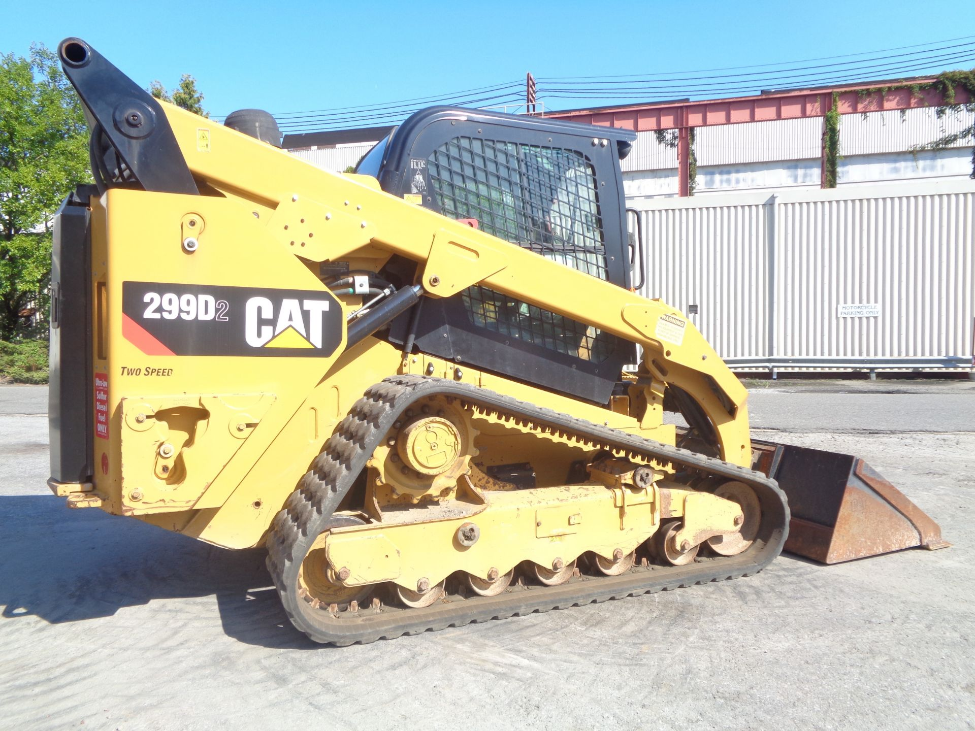 Lot 39 - 2016 Caterpillar 299D2 Skid Steer