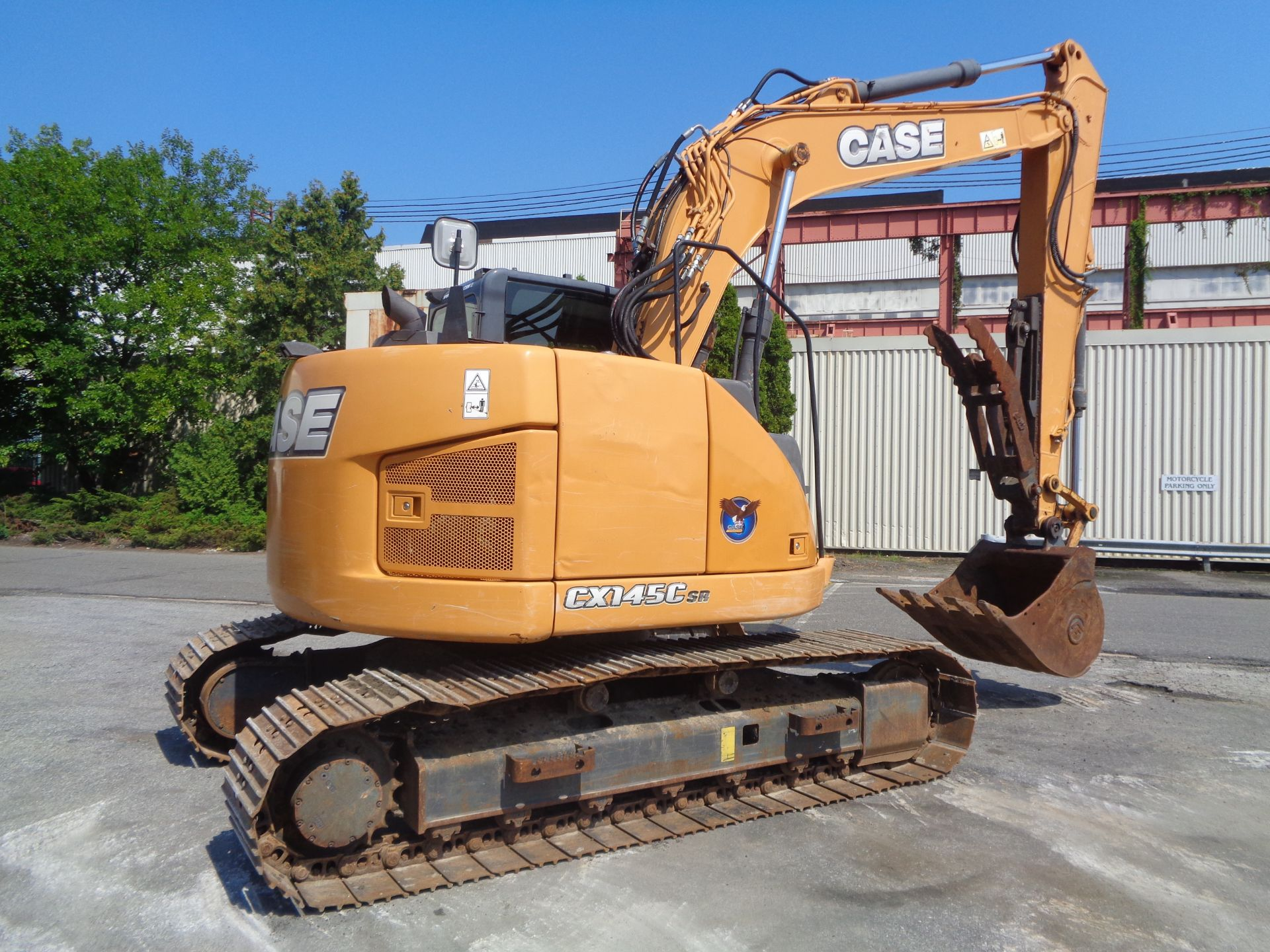 Lot 25 - 2014 Case CX145C Excavator