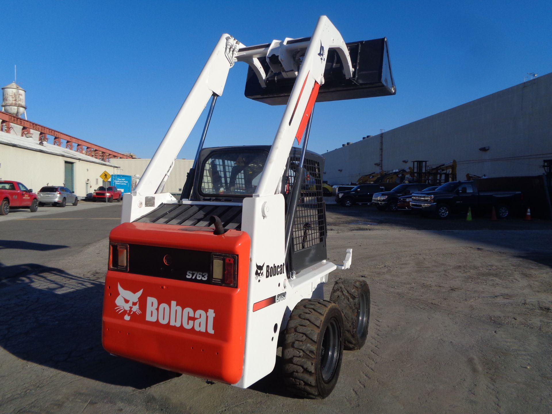 Lot 42 - Bobcat 763 Skid Steer