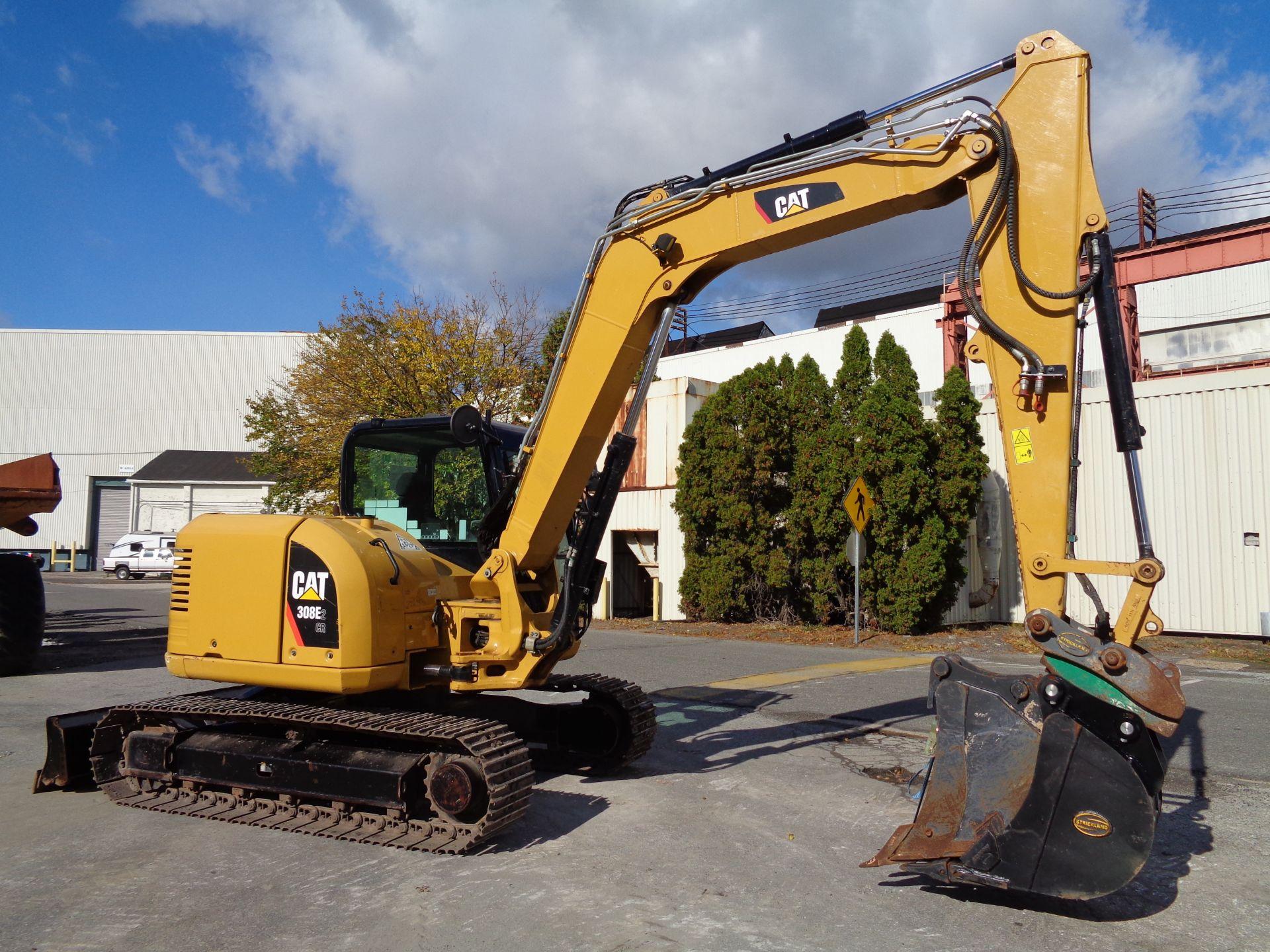 Lot 28 - 2016 Caterpillar 308E2CR Midi Excavator