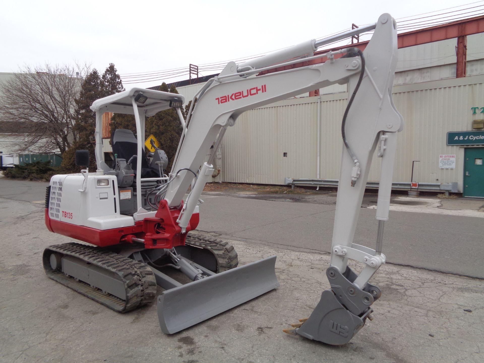 Lot 35A - Takeuchi TB135 Mini Excavator