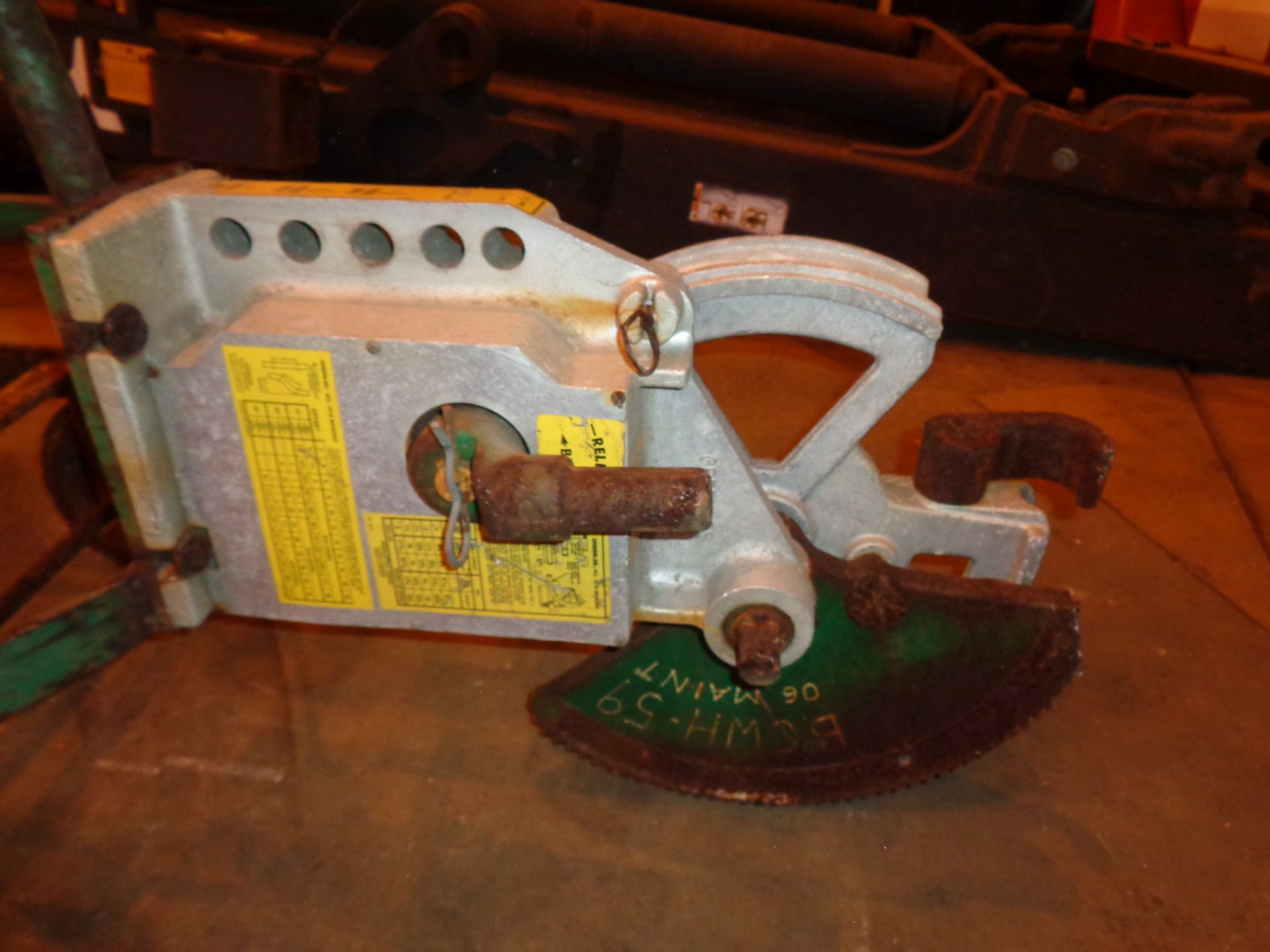 Lot 4 - GreenLee Pipe Bender