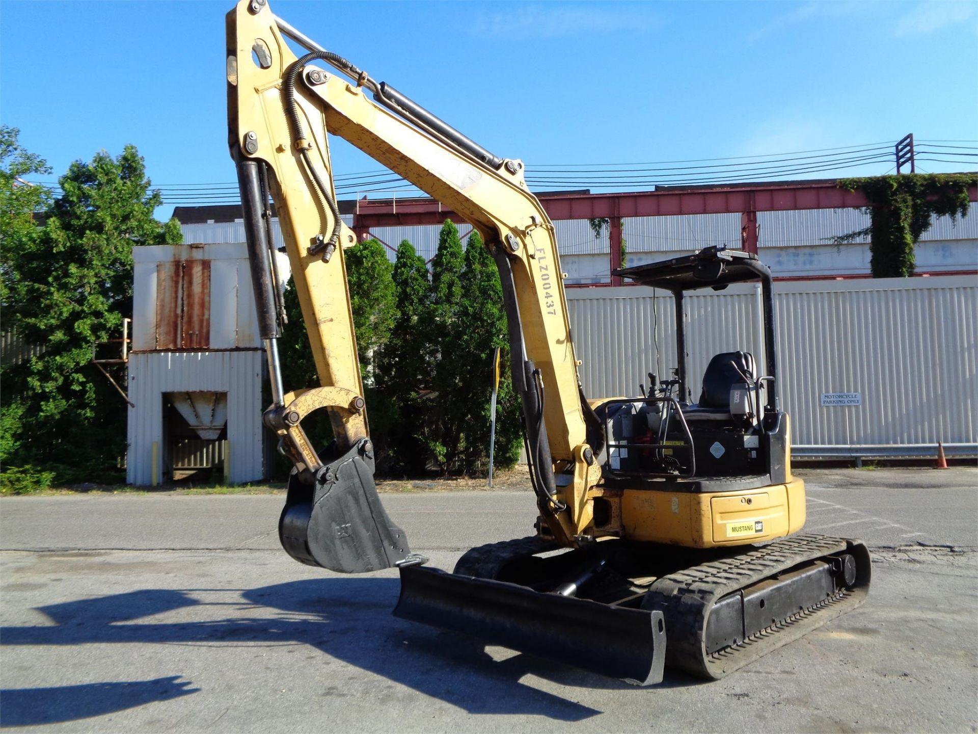 Lot 34 - 2011 Caterpillar 305.5D CR Mini Hydraulic Excavator