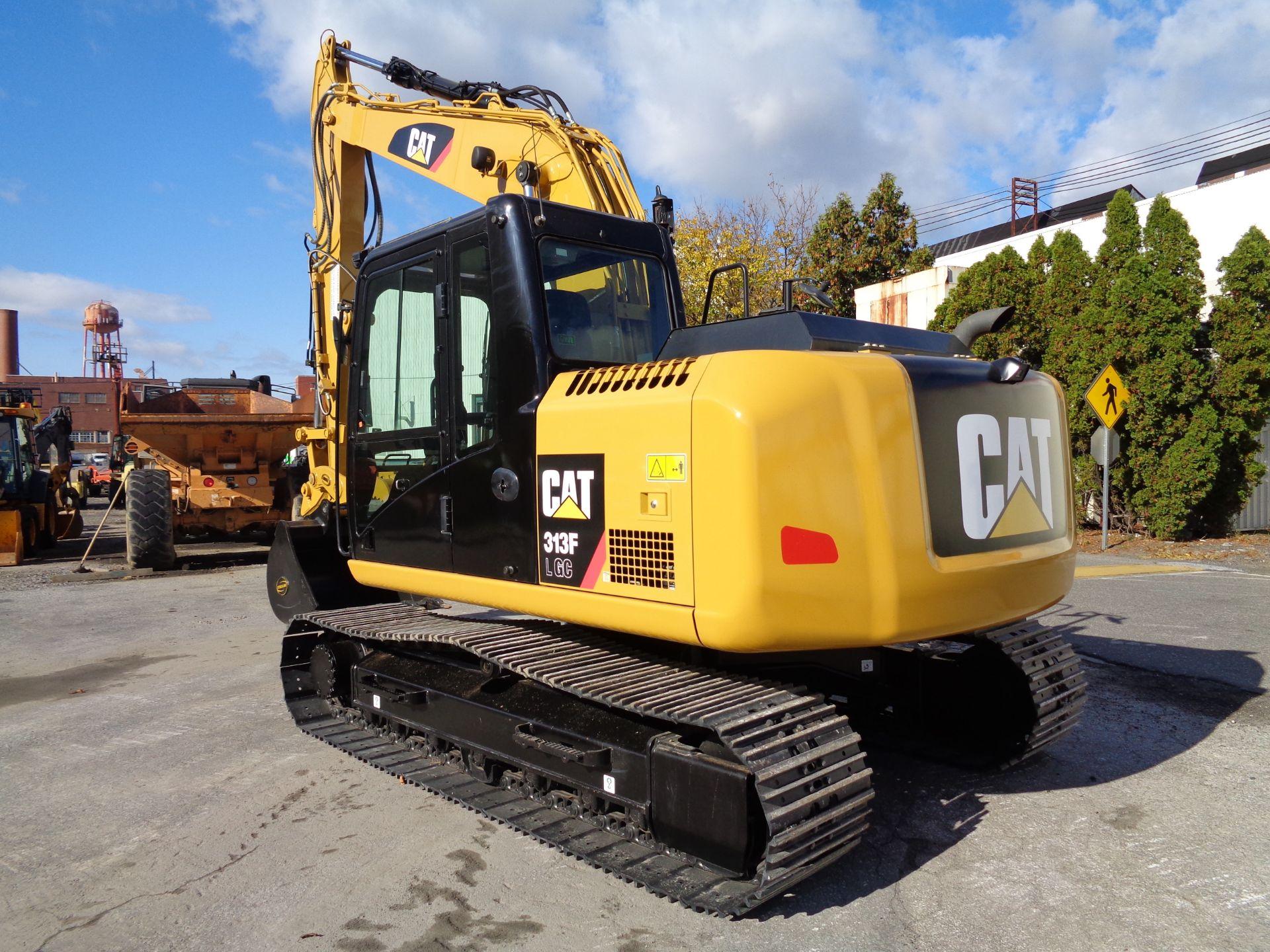 Lot 22 - 2016 Cat 313FLGC Excavator