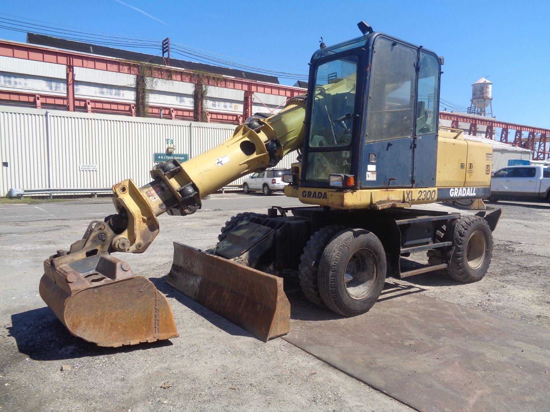 Lot 36 - 2003 Gradall XL2300 Wheel Excavator