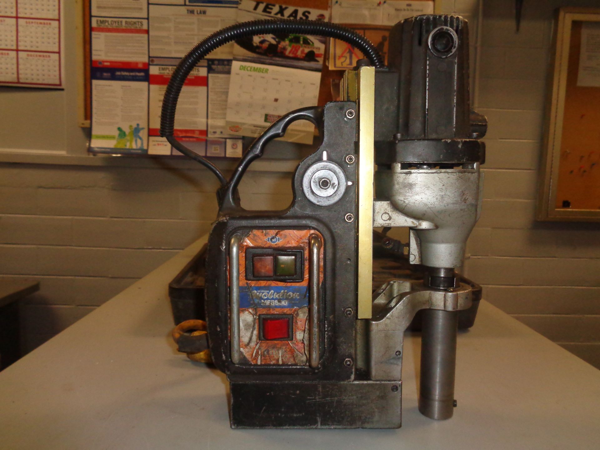 Lot 11C - Evolution ME3500 Magnetic Drill