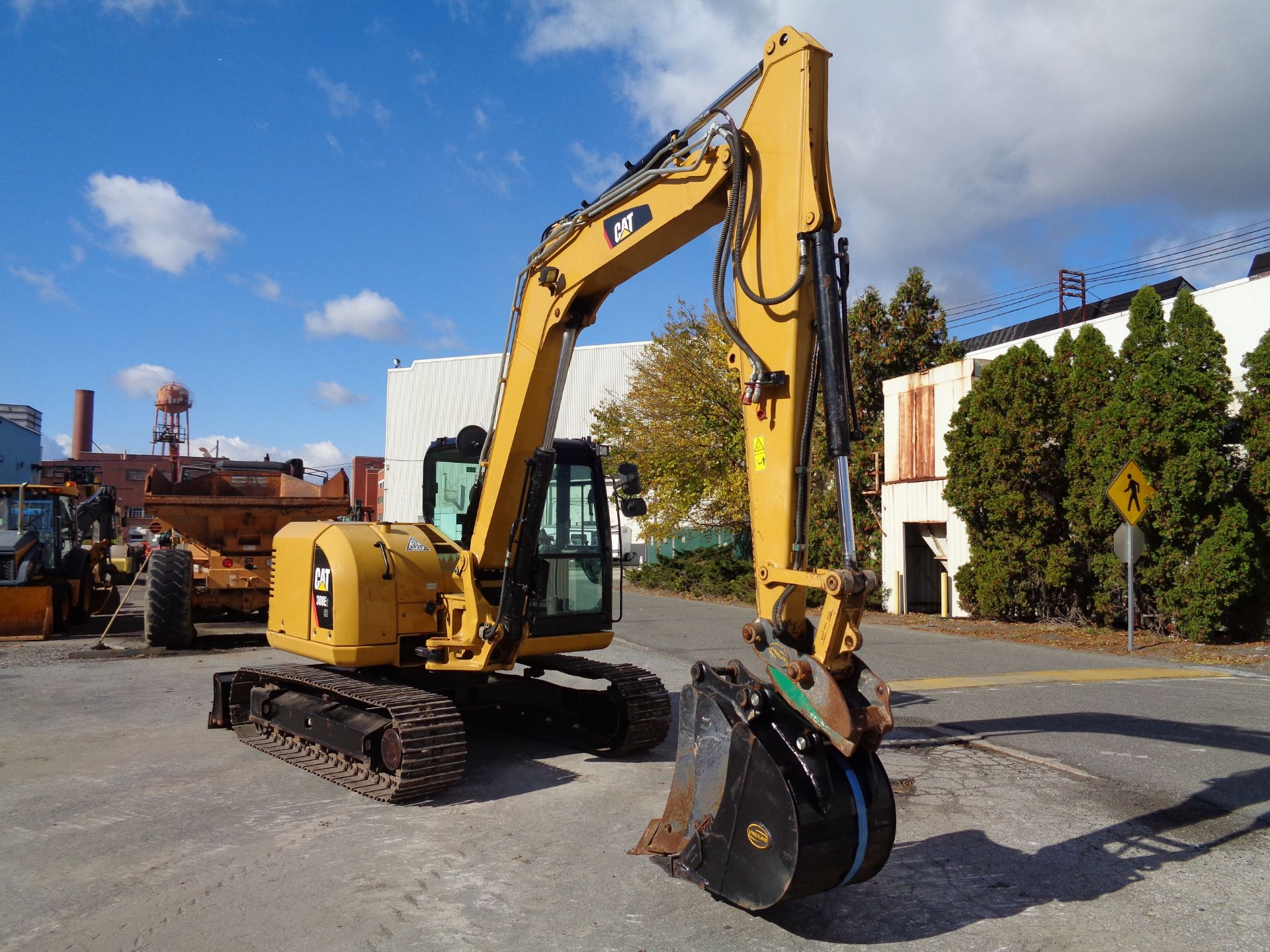 Lot 28 - 2016 Caterpillar 308E2CR Midi Excavator