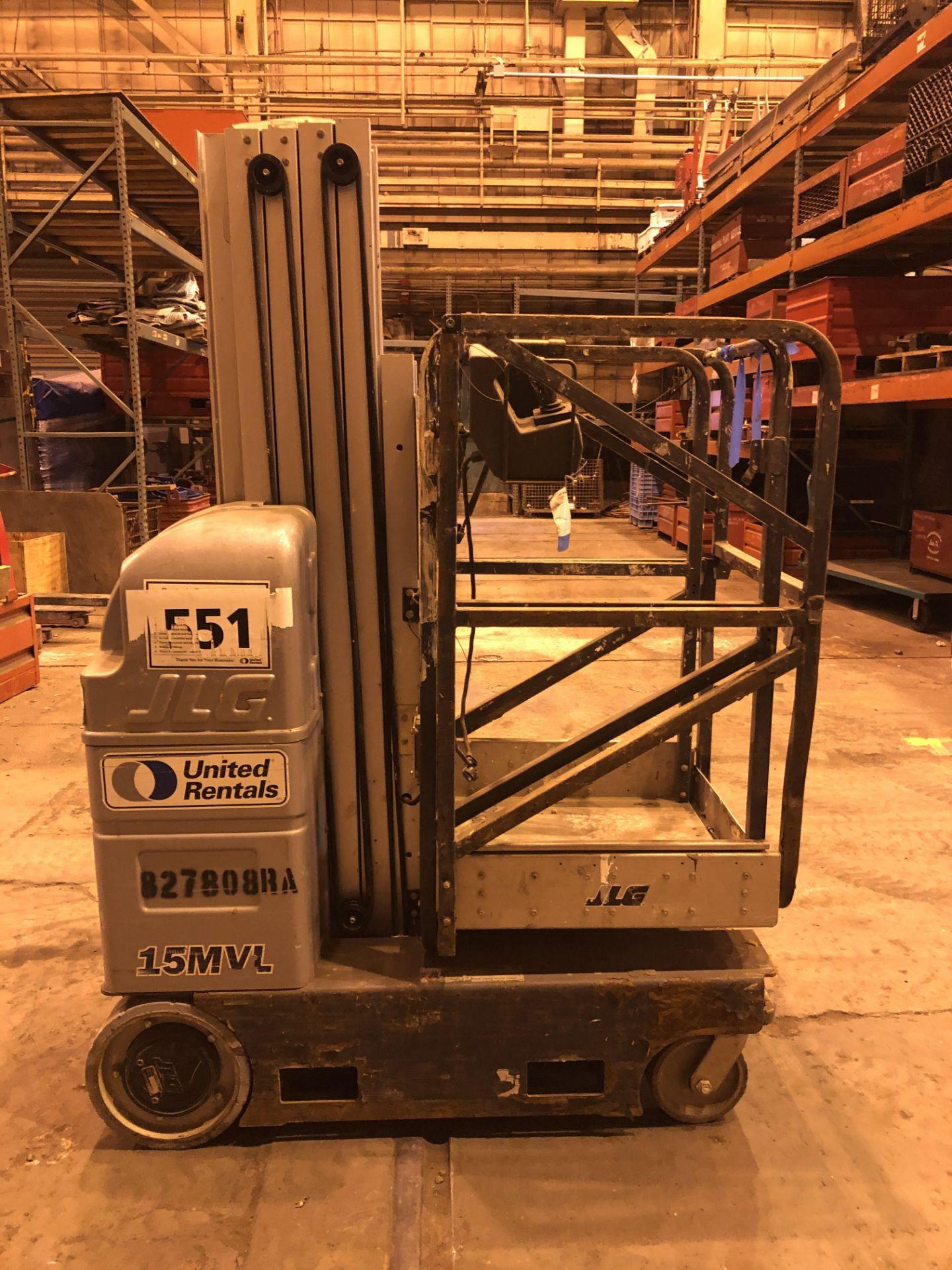 Lot 13 - JLG 15MVL Scissor Lift