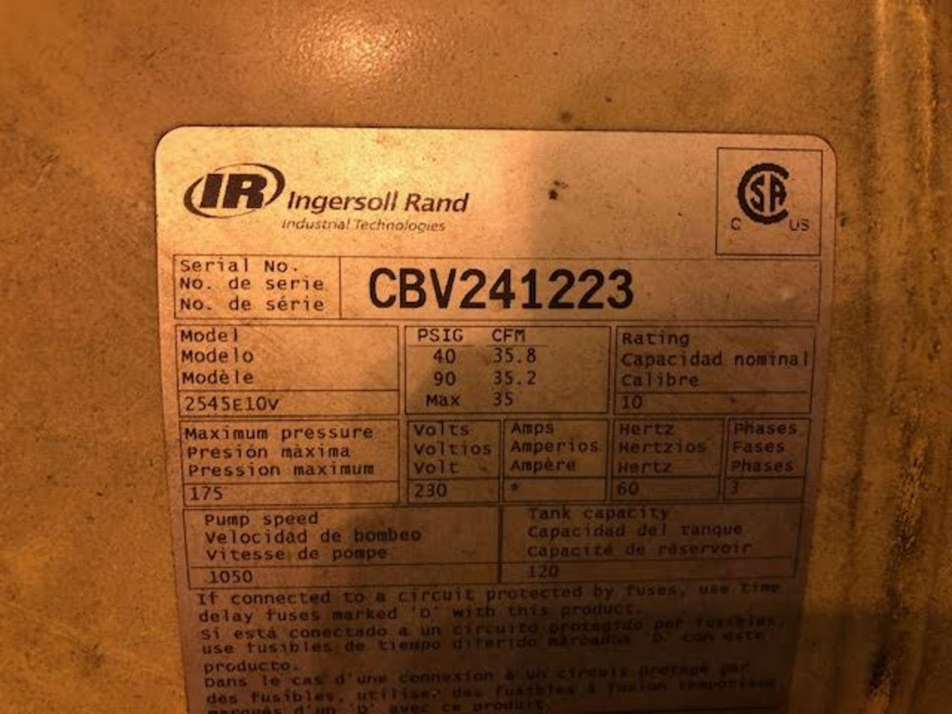 Lot 16 - Ingersoll Rand Air Compressor