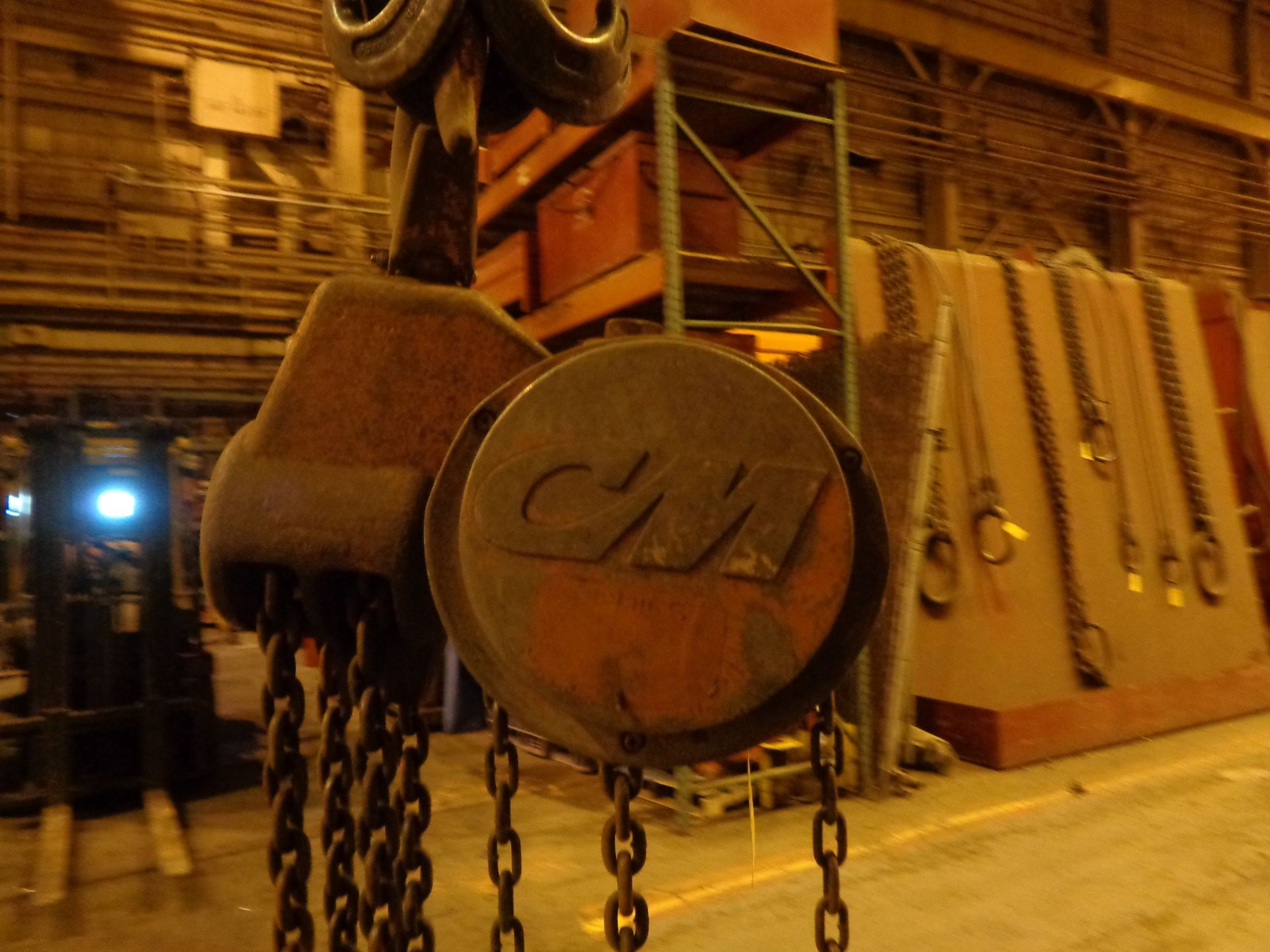 Lot 1 - 10 Ton CM Chain Hoist (#451)