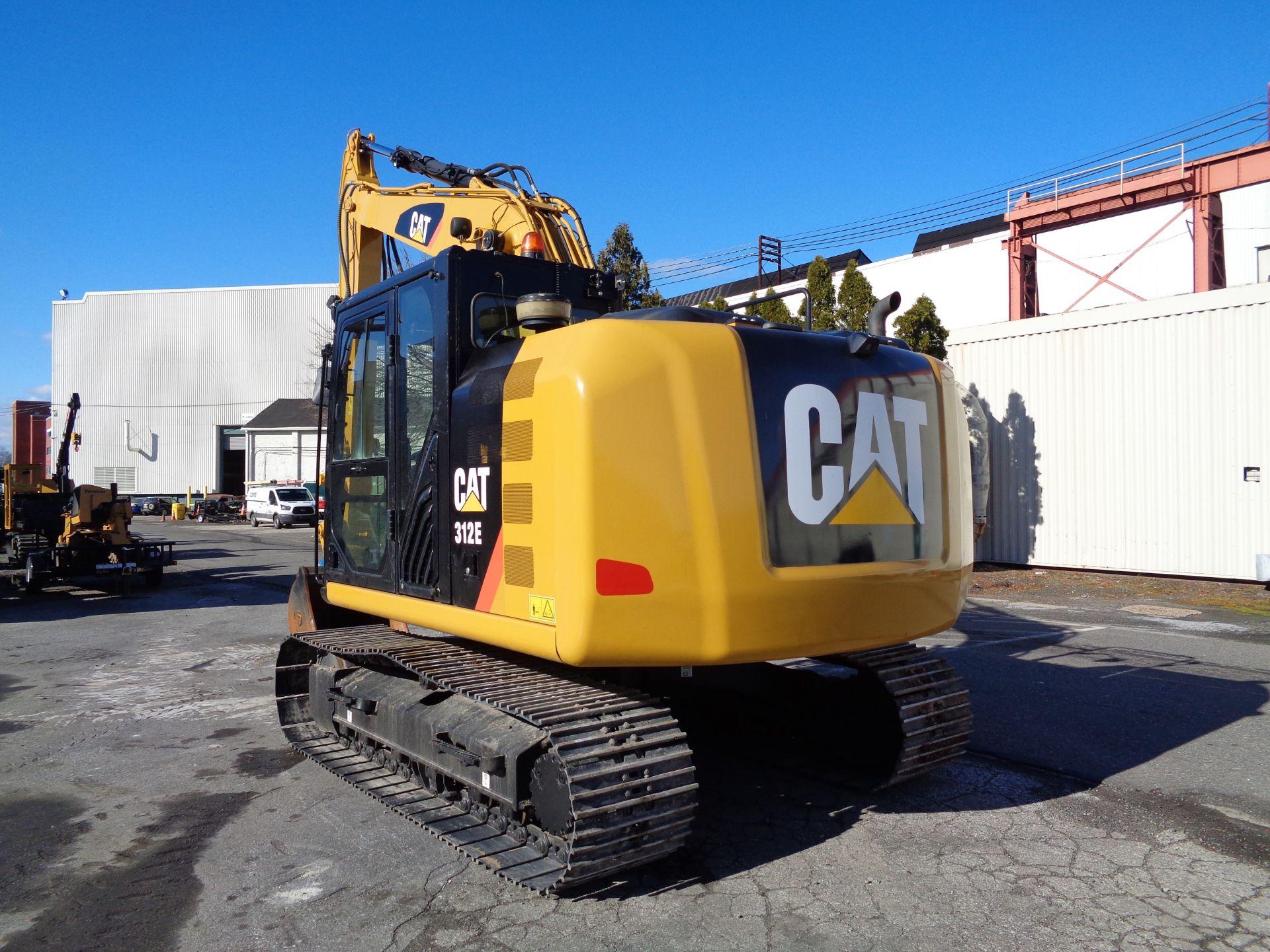 Lot 23 - 2015 CAT 312E Hydraulic Crawler Excavator
